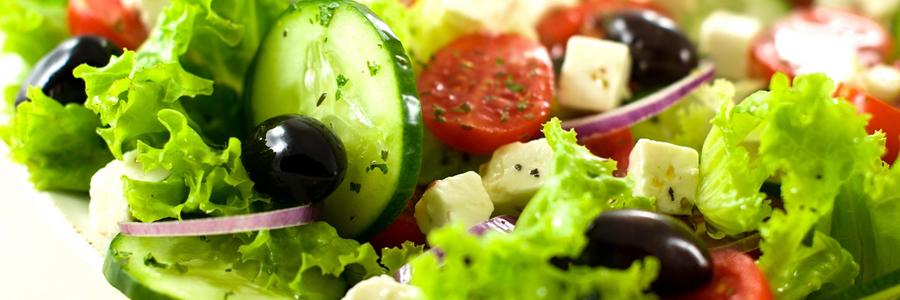 Pomysły na sałatki obiadowe